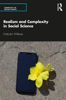 Realism and Complexity in Social Science PDF