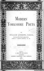 Modern Yorkshire Poets