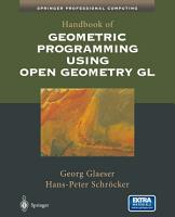 Handbook of Geometric Programming Using Open Geometry GL PDF