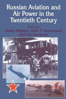 Russian Aviation and Air Power in the Twentieth Century PDF