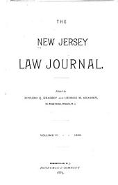 The New Jersey Law Journal: Volume 6