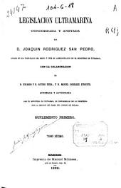 Legislación ultramarina: (785, VI, p.)
