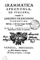 GRAMMATICA SPAGNUOLA, ED ITALIANA