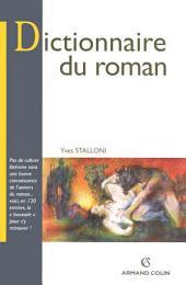 Dictionnaire du roman