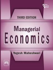 MANAGERIAL ECONOMICS: Edition 3