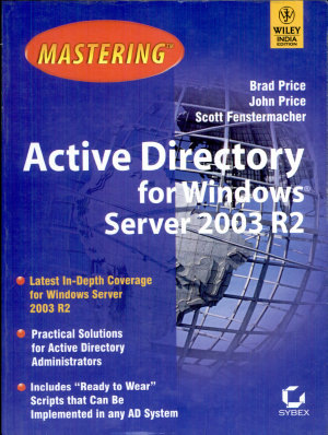 MASTERING ACTIVE DIRECTORY FOR WIN  SERVER 2003 R2 PDF