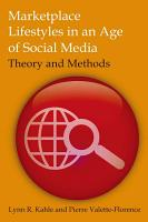 Marketplace Lifestyles in an Age of Social Media  Theory and Methods PDF