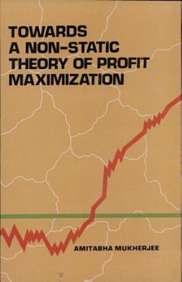 Towards a Non Static Theory of Profit Maximization