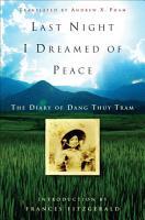 Last Night I Dreamed of Peace PDF