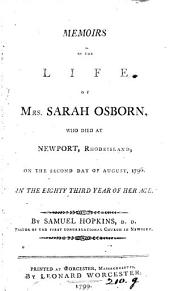 Memoirs of the life of mrs. Sarah Osborn