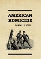 American Homicide PDF
