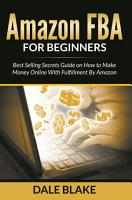 Amazon FBA For Beginners PDF