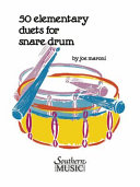 Fifty Elementary Duets for Snare Drum PDF