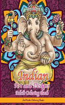 Indian Art and Designs Adult Coloring Book Travel Size PDF