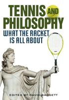 Tennis and Philosophy PDF