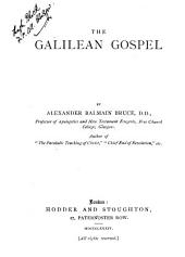 The Galilean Gospel
