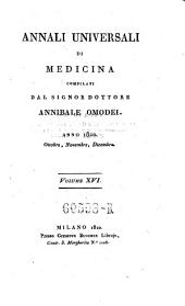 Annali di medicina straniera, compilati da A(nnibale) Omodei: Volume 20