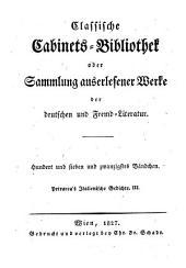 Italienische Gedichte übers. von Carl Förster. 3 Bde: Band 3
