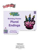 Plural Endings--Birthday Parties Literacy Center