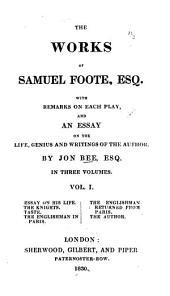 The Works of Samuel Foote: Volume 2