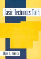 Basic Electronics Math PDF