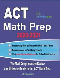 Act Math Prep 2020 2021 Book PDF