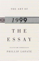 The Art of the Essay 1999