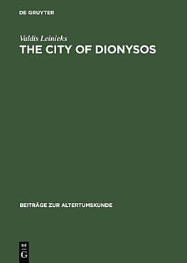 The City of Dionysos PDF
