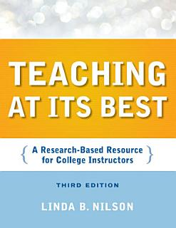 Teaching at Its Best Book