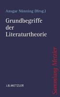 Grundbegriffe der Literaturtheorie PDF