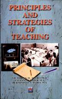 Principles and Strategies of Teaching 2000 Ed  PDF