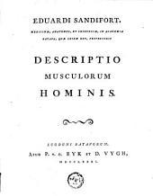 Descriptio musculorum hominis
