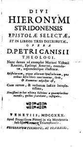 Epistolae: in tres libros distributae