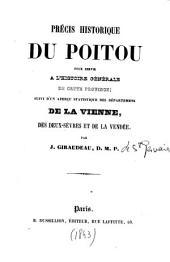Précis historique du Poitou: pour servir à l'histoire générale de cette province