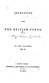 Selections from the British Poets: Volume 2
