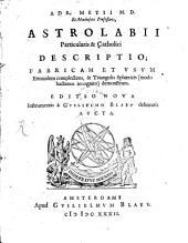 Astrolabii particularis et catholici descriptio