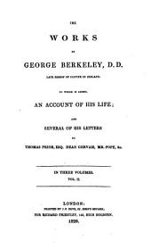 The works of George Berkeley: Volume 2