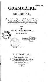 Grammaire Suedoise