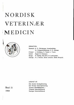 Nordisk veterinaermedicin PDF