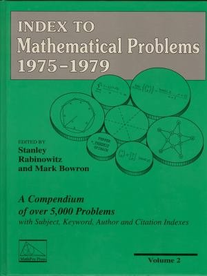 Index to Mathematical Problems  1975 1979 PDF