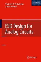 ESD Design for Analog Circuits