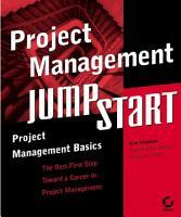Project Management JumpStart PDF