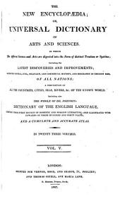 The new encyclopædia; or, Universal dictionary ofarts and sciences