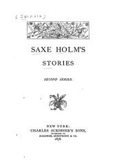 Saxe Holm's Stories. [1st-]2d Ser: A four-leaved clover. Farmer Bassett's romance. My tourmaline. Joe Hale's red stockings. Susan Lawton's escape
