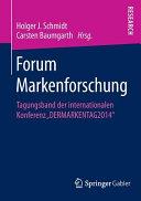 Forum Markenforschung PDF