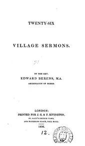 Twenty-six village sermons