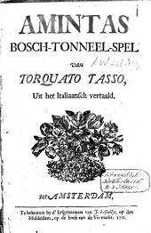Amintas, bosch-tonneelspel