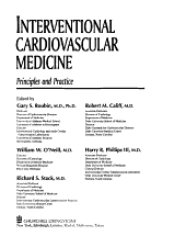 Interventional Cardiovascular Medicine