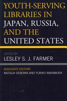 Youth serving Libraries in Japan  Russia  and the United States PDF