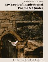 My Book of Inspirational Poems   Quotes PDF